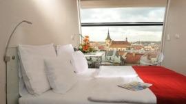 Metropol Hotel Design Prague Praha - Double room with view
